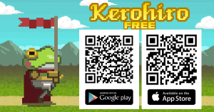 Kerohiro the flag bearer for android and ios